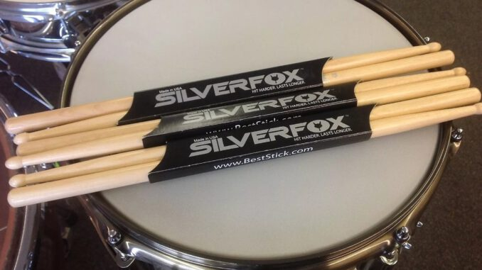 silver fox drum sticks