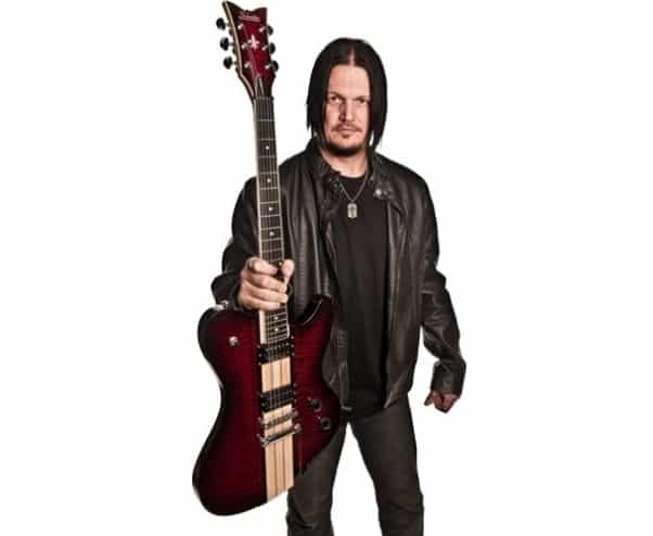 Look at Dan Donegan Signature Schecter Guitar from Disturbed