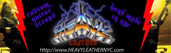 Heavy Leather NYC Guitar Straps