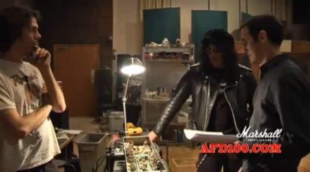Slash plays Marshall AFD100 prototype #1