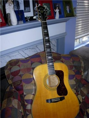 1986 Guild D64qm acoustic guitar