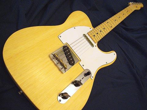 Bamboo Telecaster Guitar