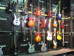 Beginner bass guitar music store review