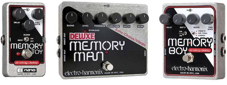 Electro-Harmonix Announces New Deluxe Memory Man