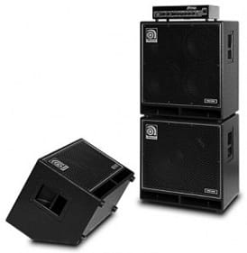 Ampeg Bass Amps: Ampeg SVT-7PRO and PRO NEO cab