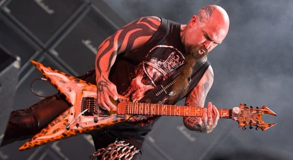 B.C. Rich Kerry King of Slayer Introduce Beast V Guitars