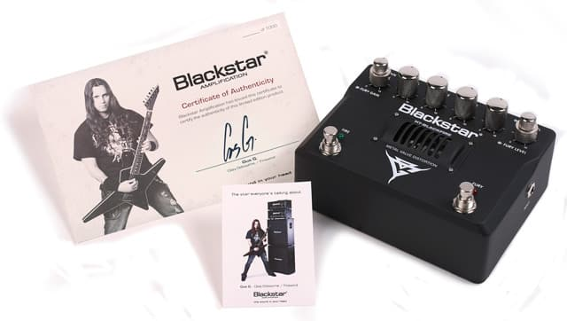 Blackstar HT-Blackfire Gus G Guitar Distortion Pedal
