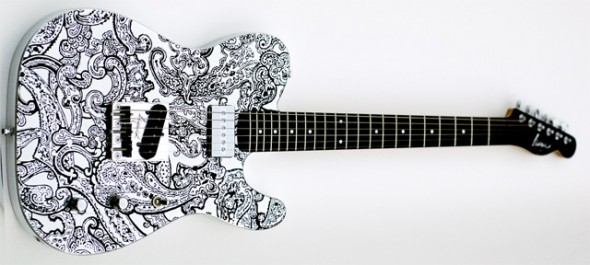 Liquid Metal Guitars LMG-T Paisley