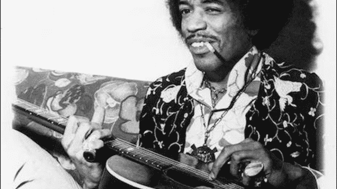 Jimi Hendrixs Acoustic Guitar