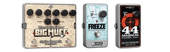 History of the Electro-Harmonic Big Muff Guitar Pedal