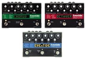 Eventide TimeFactor, PitchFactor, ModFactor Guitar Pedals