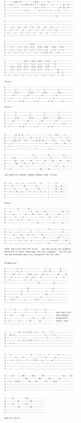 hallelujah tab and lyrics for guitar