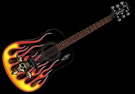 bret michaels guitar the player