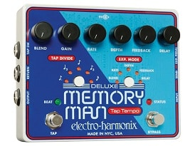 Electro-Harmonix Announces New Deluxe Memory Man