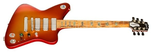 Gibson launches the Revolutionary Firebird X