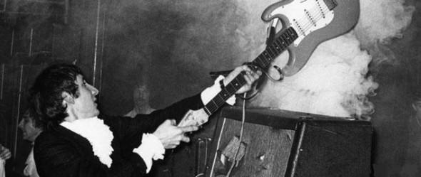 Pete Townshend Guitar Smashing