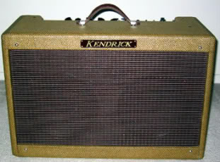 Boutique Guitar Amps Fender Kendrick