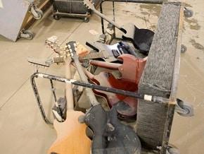 Nashville Flood Guitars Destroyed