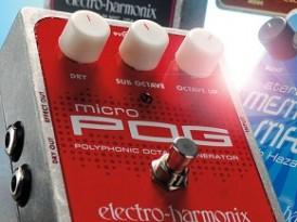 ElectroHarmonix POG Guitar Octave Pedal