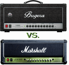 Marshall JCM900 vs Bugera 1990