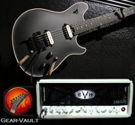 EVH 5150 III Mini-Amp Head EVH Stealth Guitar