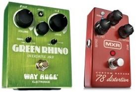Way Huge Green Rhino MXR Custom Badass '78 Distortion