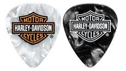 Harley Davidson Guitar Picks
