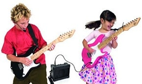 Top Five Kids Electric Guitar Packages