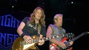 Night Ranger Covers AC/DC's Dirty Deeds – Video