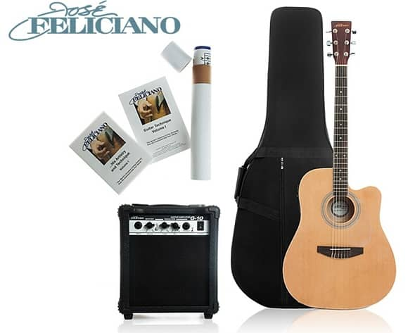 Jose Feliciano Electric Acoustic Guitar Package