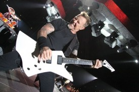 ESP and LTD Snakebyte James Hetfield Signature models