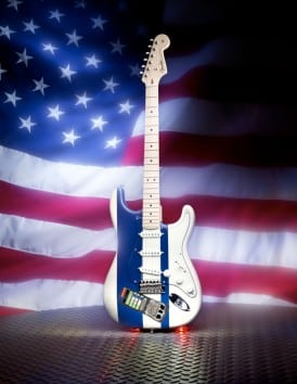 Fender 911 tribute guitars