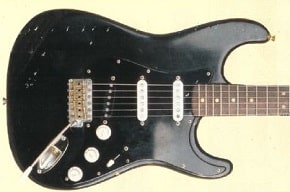 History of David Gilmour's Black Fender Stratocaster