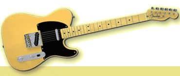 Fender Telecaster stolen from a Casket
