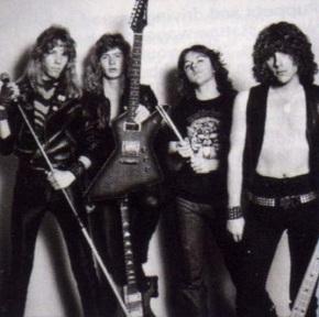 Metallica: James Hetfield, Dave Mustaine, Lars Ulrich, Ron Mcgovney