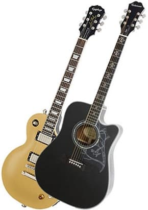 Epiphone LE 1956 Gold Top Les Paul Guitar