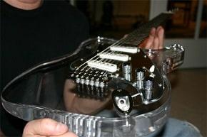 Acrylic Electric guitars