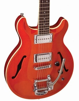 Hamer Newport and Newport Pro Hollowbody Guitar