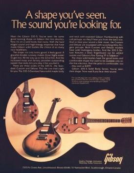 Gibson 1980 335s Guitar