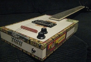 Ultimate Recycling: Building The Cigar Box Guitar