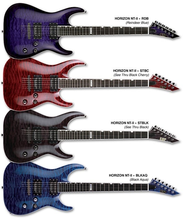 ESP LTD Guitars of 2010 – ESP/LTD Rocks!