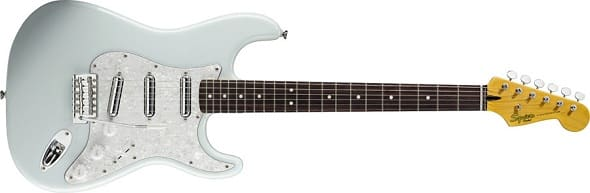 Fender ramps up its Squier line for 2012