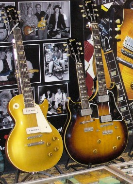 Gibson Les Paul and Doubleneck Octave