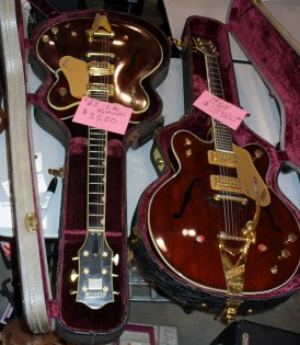 2 mid-60s Gretsches