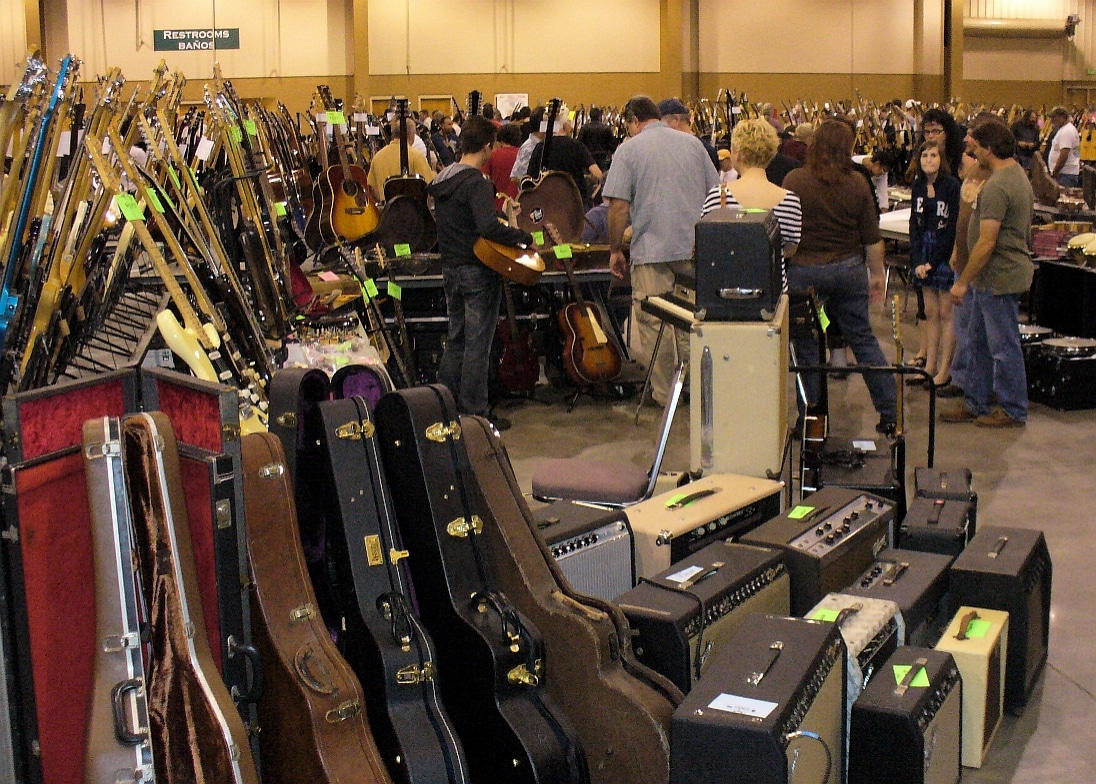 What is it like going to a Guitar Show?