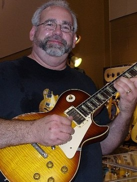 Me with Historic Makeover Les Paul