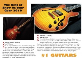 """Audrey"" featured in Premier Guitar Magazine"