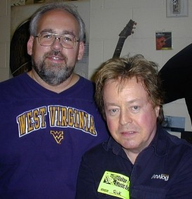 Me with the legendary Rick Derringer