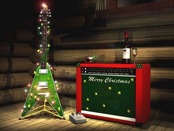 christmas guitar songs