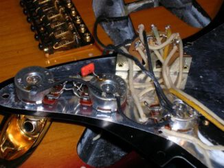 how electric guitar electronics work
